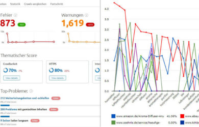 SEMrush vs. Ryte - Duell der SEM Tools