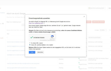 Google Search Console erhöht Crawling-Limit