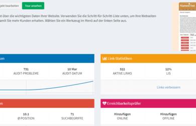 SEOprofiler Test: Der ausführliche Bericht zum SEO & Webanalyse Tool