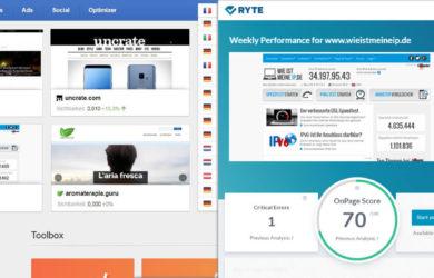Die SEO Onpage Analyse Tools SISTRIX und Ryte im Vergleich