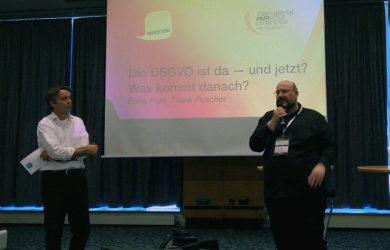 DSGVO aktuell - Diskussionen auf der Webinale Berlin 2018