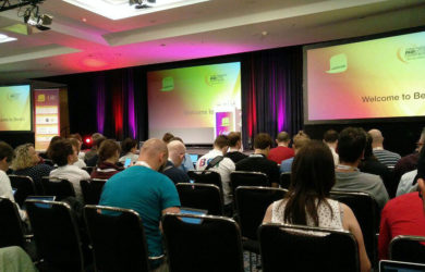 Spannung vor der einleitenden Keynote der Webinale