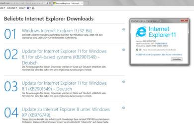 Microsoft Internet Explorer soll nicht mehr verwendet werden